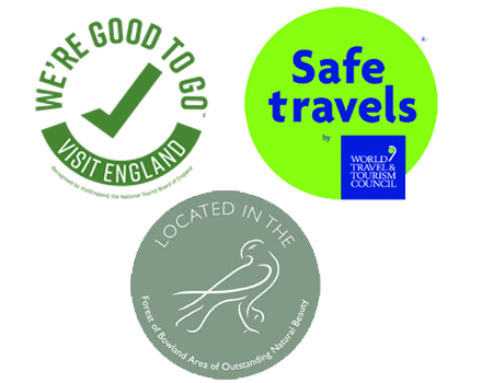 VisitBritain 'We're Good to Go' and World Travel & Tourism Council's Safe Travel.